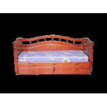 """Кровать  """" Джулия с тремя с пинками """""""